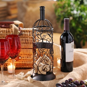 Metal Wine Cork Holder