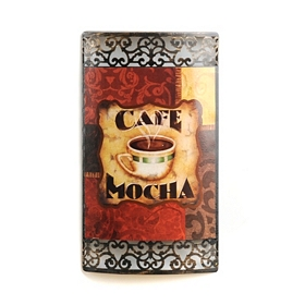 Coffee Break Metal Wall Art