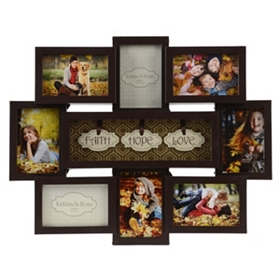 Faith, Hope, Love Collage Frame