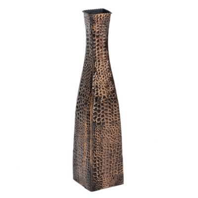 Pebble Bronze Floor Vase