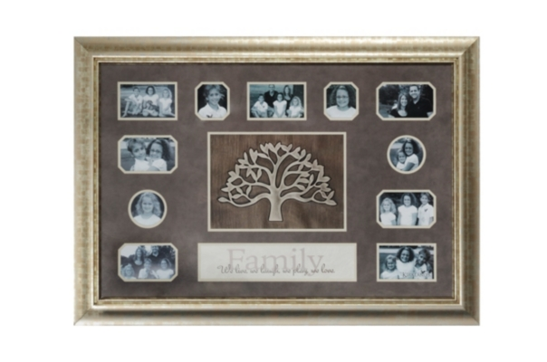 Mosaic Family Tree Collage Frame
