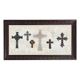 Faith Cross Shadowbox
