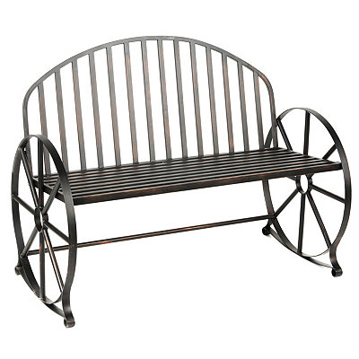 Kirklands Wagon Wheel Metal Bench Customer Reviews Product Reviews Read Top Consumer Ratings