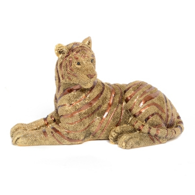 Tiger Jewel Statue