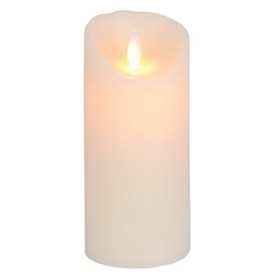 Ivory LED Flameless Candle, 7 in.