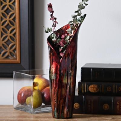 Rainbow Ceramic Calla Vase