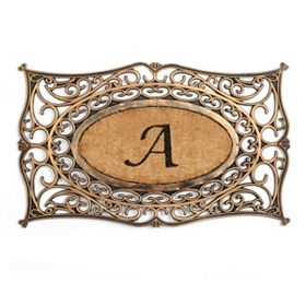 Monogram A Doormat