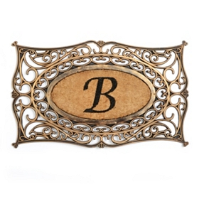 Monogram B Doormat