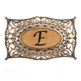Monogram E Doormat