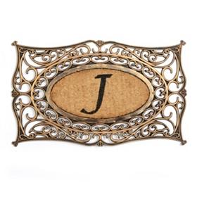 Monogram J Doormat