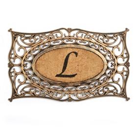 Monogram L Doormat
