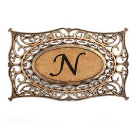 Monogram N Doormat
