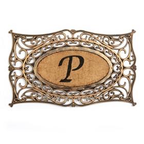 Monogram P Doormat