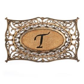 Monogram T Doormat