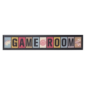 Game Room Plaque