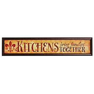 Kitchens & Families Framed Art Print