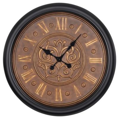Bronze Fleur-de-Lis Clock