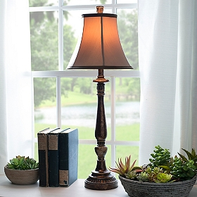 Bronze Harmon Buffet Lamp