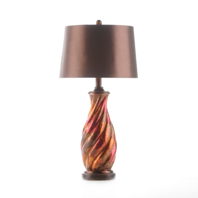 Red Color Infusion Table Lamp