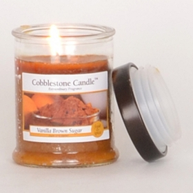 Vanilla Brown Sugar Jar Candle, 3 oz.