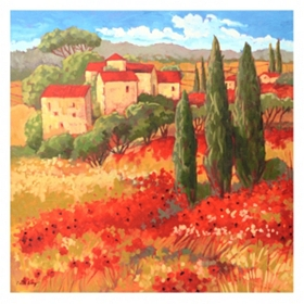 Tuscan Memory Canvas Art Print