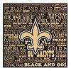 New Orleans Saints Victory Plaque