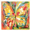 Lavina Butterfly Canvas Art Print