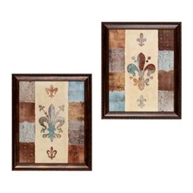 Fleur-de-lis Framed Art Prints