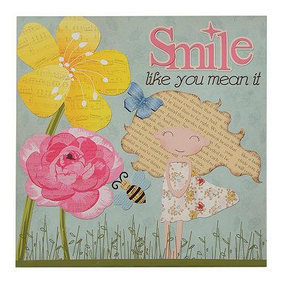 Smile & Dance Canvas Art Print