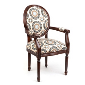 Medallion Mist Arm Chair