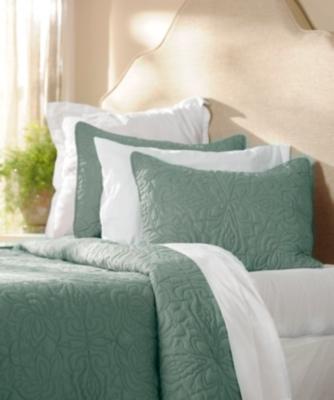 Turquoise 3-pc. Queen Quilt Set
