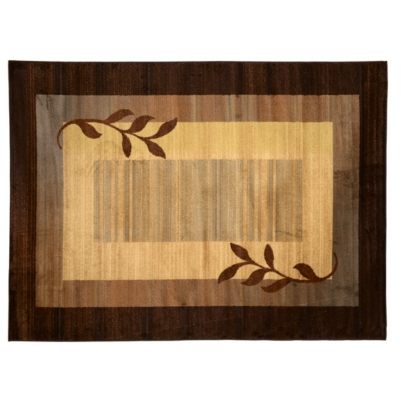 Monarch Brown Rug, 8x11