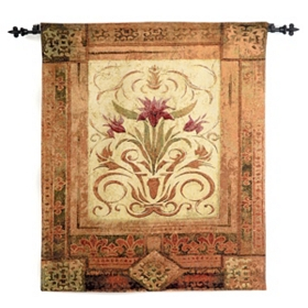 Crimson Blossom Tapestry Set