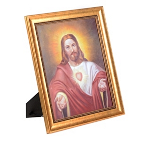 Sacred Heart of Jesus Framed Art Print