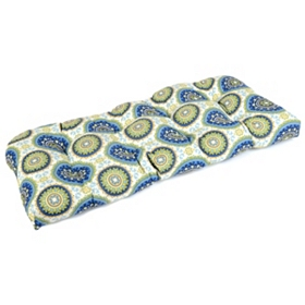 Summer Bindis Outdoor Settee Cushion