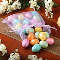 Glittered Easter Eggs, Set of 24