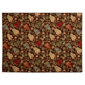 Jackson Spicy Floral Scatter Rug