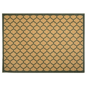 Jackson Blue Lattice Scatter Rug