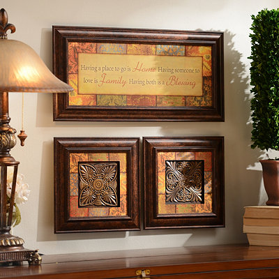 Blessings Shadowbox, Set of 3
