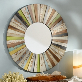 Ariel Wood Mirror