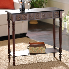 Cates Mahogany Console Table