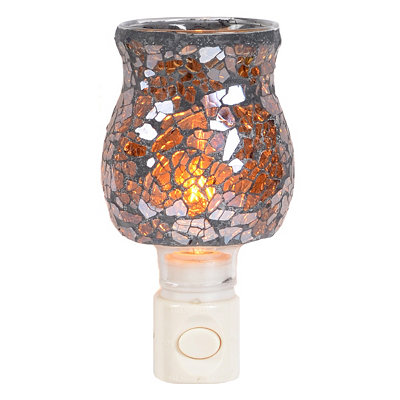 Amber Mosaic Night Light