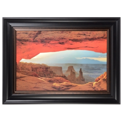 Canyon View Framed Art Print