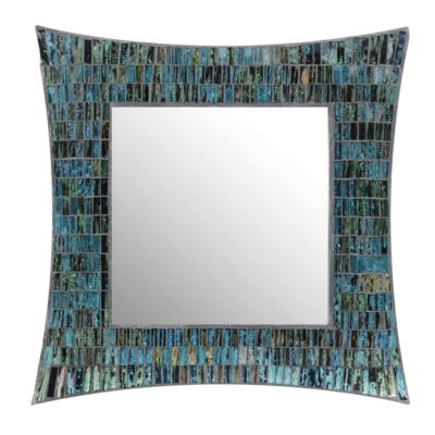 Aramis Mosaic Glass Mirror, 20x20