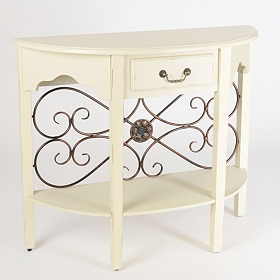 Cream Addison Console