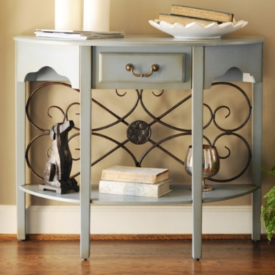 Blue Addison Console