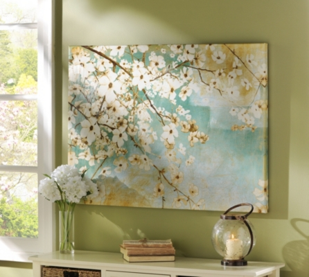 Gentle Spring Canvas Art Print