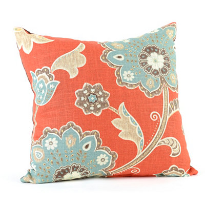Spice & Aqua Ankara Pillow