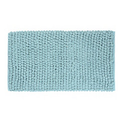 Aqua Plush Bubble Bath Mat