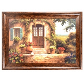 Pastoral Retreat Framed Art Print